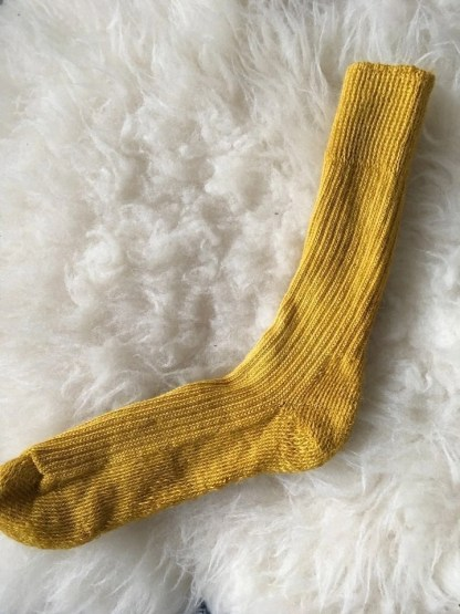 Sheep Shop mohair socks buttertubs