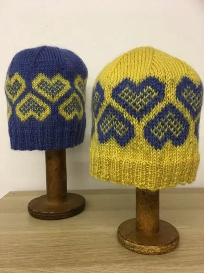 The Wensleydale Longwool Friendship Hat Knitting Kit