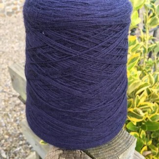 Blue 4 Ply Merino Wool on cone