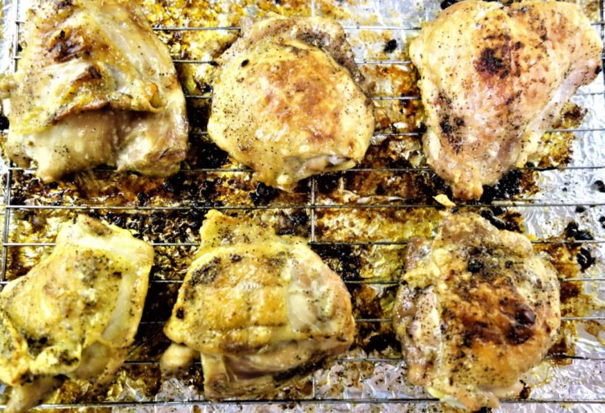 garlic butter salt and pepper chicken