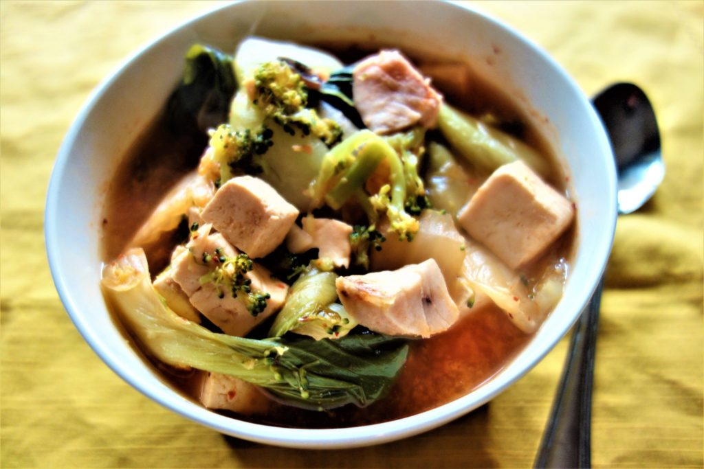 Kimchi Tofu Stew: Healthy Soups and Stews