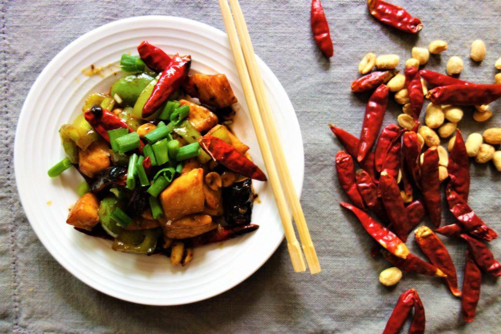 Kung Pao Calamari: Chinese Takeout Dishes