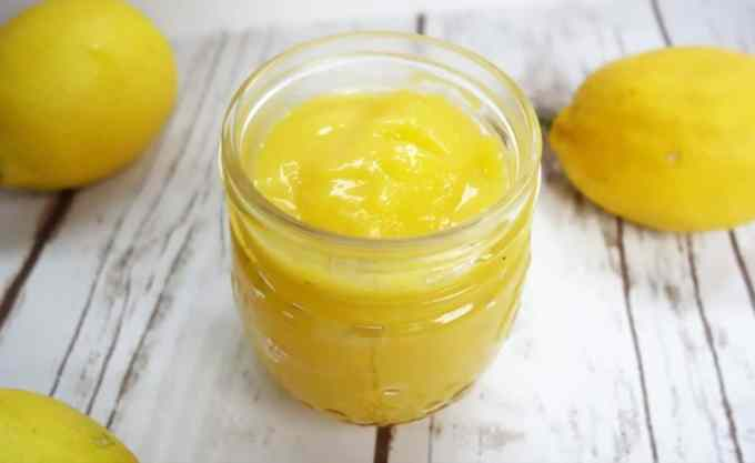 Sweet and Tangy Homemade Lemon Curd