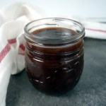 smoky sweet and tangy barbecue sauce in a jar