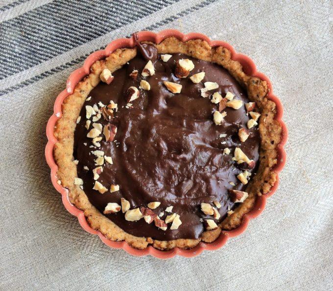 NUTELLA HAZELNUT TARTS - Delicious no bake dessert