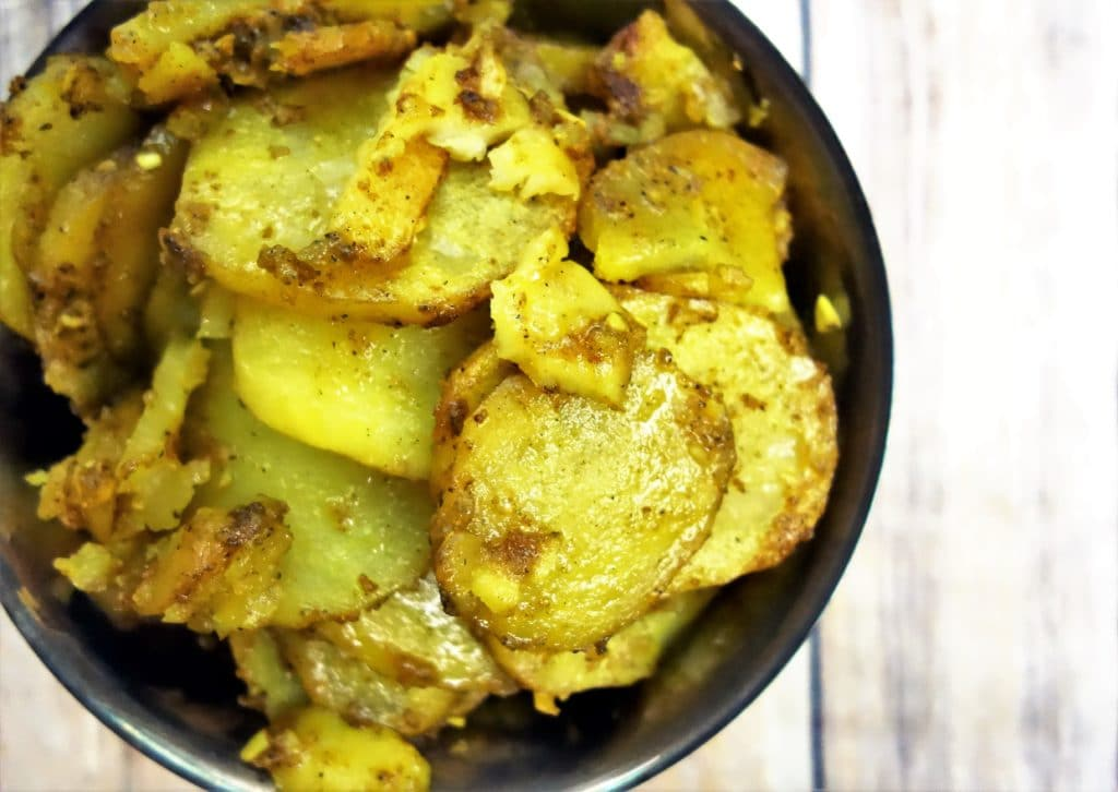 Buttery Curried Potatoes