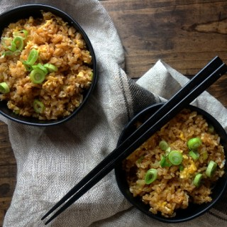The Best Basic Fried Rice with Chinese Sausage