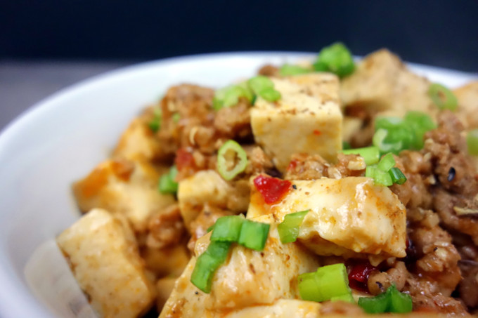 Easy to make SPICY Chinese Mapo Tofu