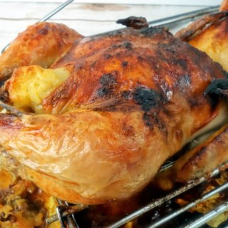 Cheesy Roasted Cornish Game Hens