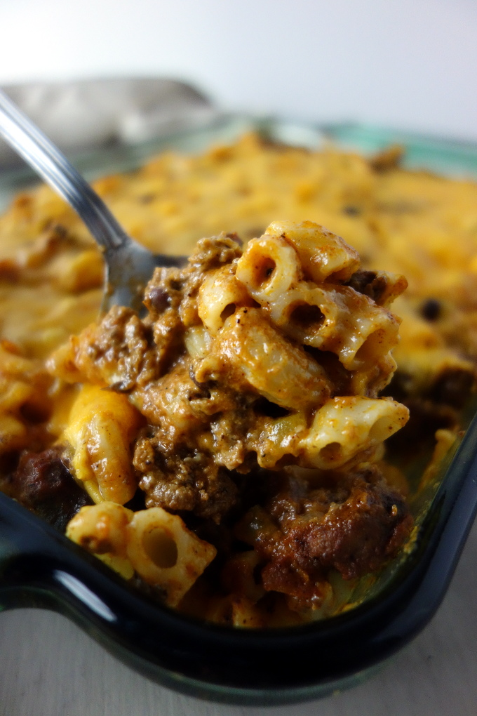 The Ultimate Baked Chili Mac Casserole