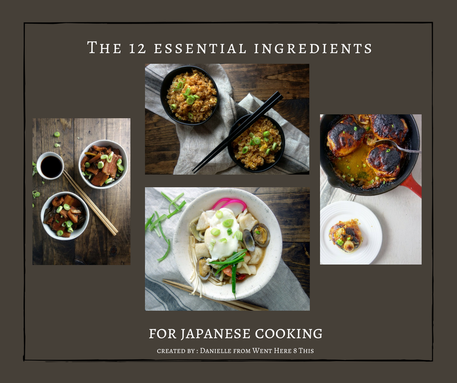 The 12 Essential Ingredients for Japanese Cooking