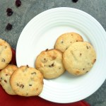 White Chocolate Cranberry Ginger Sugar Cookies