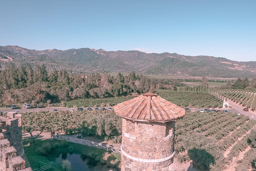 加州Napa酒莊 - Castello di Amorosa Winery - Wen the Travel Begins