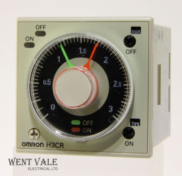 Omron H3cr-f8 - Solid-state Multifunction Twin Timer Ac-dc