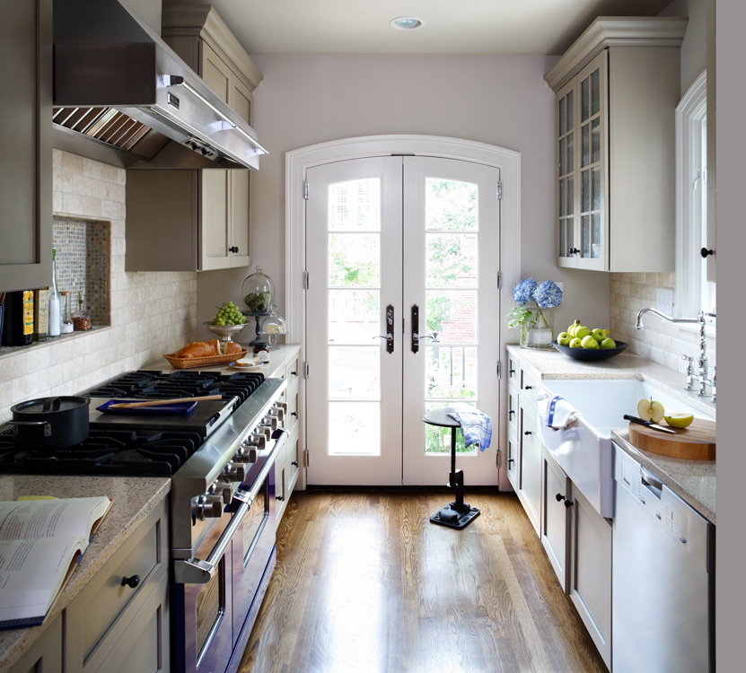 Row House Kitchen Renovation Washington DC  Kitchen