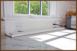 Integrated Kitchen Design How To Hide Appliances Amp Electrical Outlets In Kitchen Remodeling