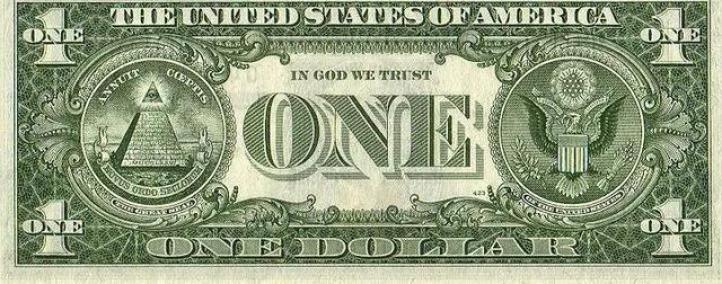 """""""上帝之眼""""為何出現在一美元上?"""