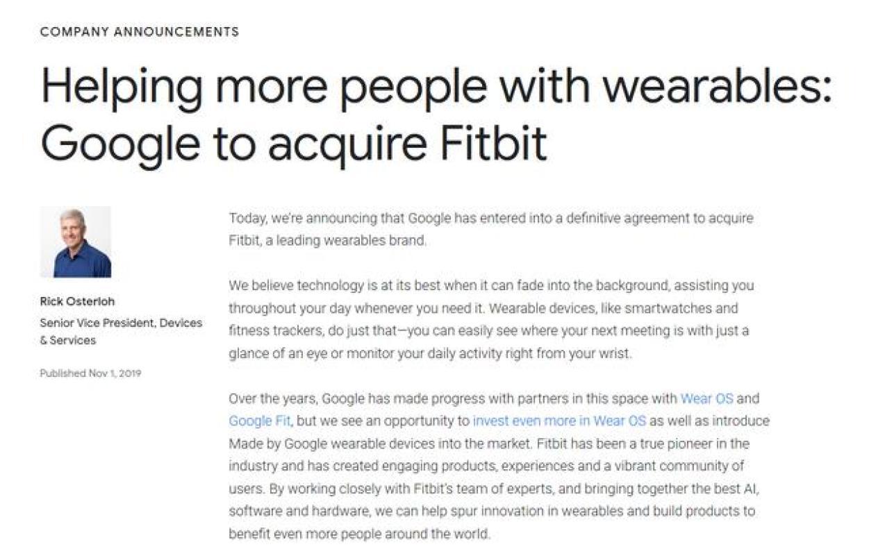 谷歌下场玩智能手表,苹果、华为、小米表示压力很大
