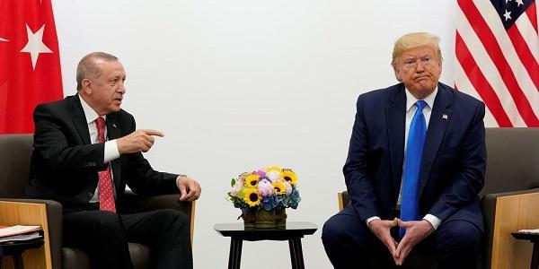 特朗普和土耳其總統埃爾多安(圖源:商業內幕網站)