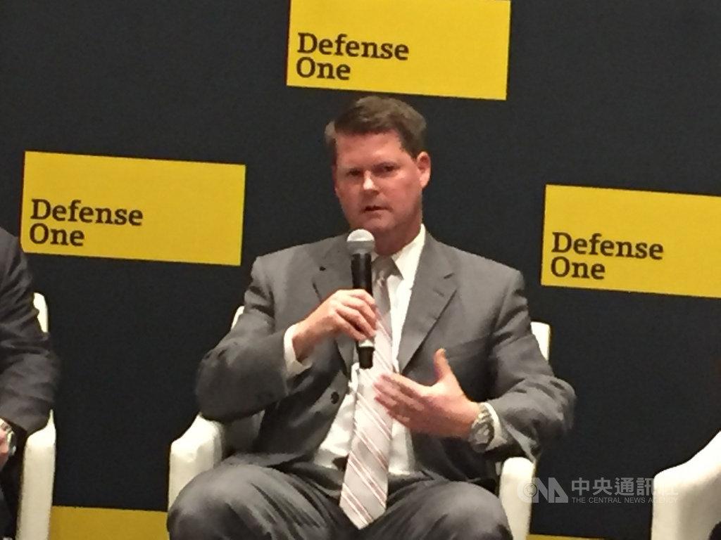 美國國防部印太助理部長薛瑞福表示,美國願意繼續與中國交流、合作,希望能降低風險,建立對危機管理與溝通的互信。中央社記者江今葉華盛頓攝 108年11月8日