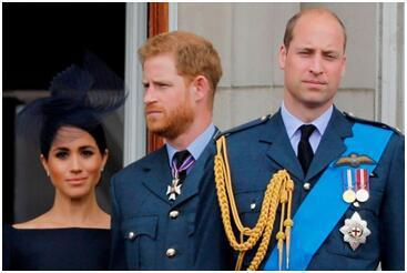 """威廉王子""""逼走""""哈里王子?兄弟二人发联合声明"""
