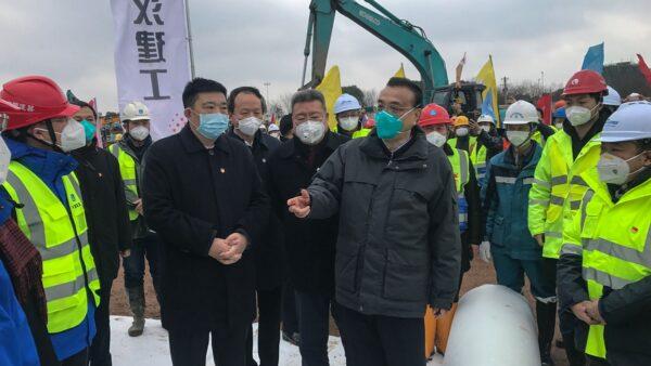 传习近平搬离中南海 武汉肺炎攻进北京机关(图)