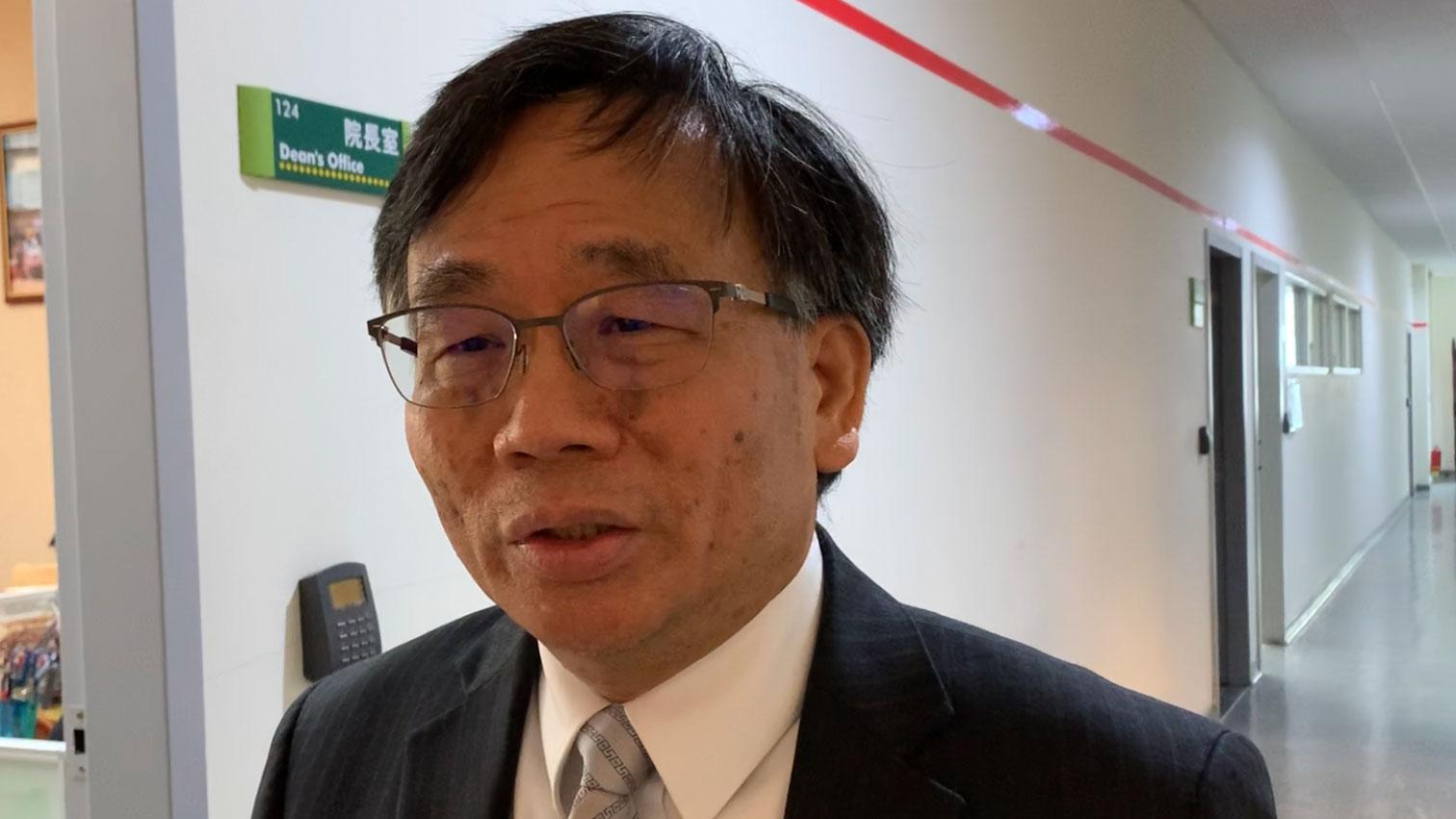 台灣大學公共衛生學院副院長陳秀熙。(RFA資料照)