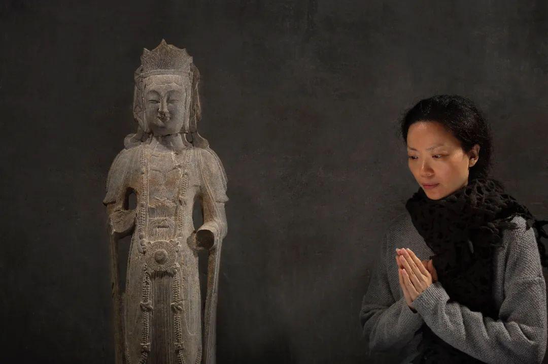 她造了一尊6吨重佛像 美得惊心动魄 还引来了日本大师