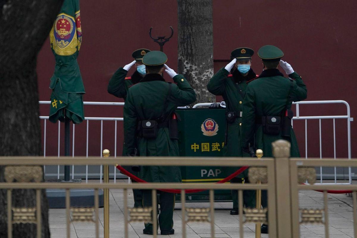 两会:实拍安保森严的北京 严防外省访民进京