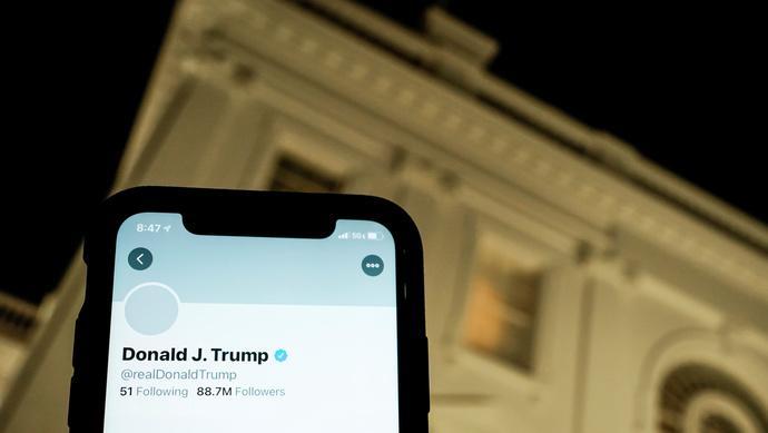 """特朗普""""拉黑""""推特用户案被美最高法驳回!理由是..."""