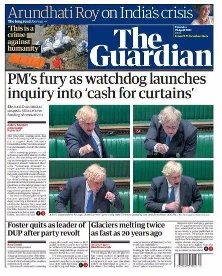 官商勾结门、装修门...英国首相约翰逊麻烦大了