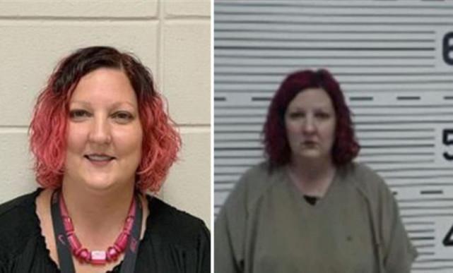 44岁女老师被控与两名男学生发生关系,被捕后自杀