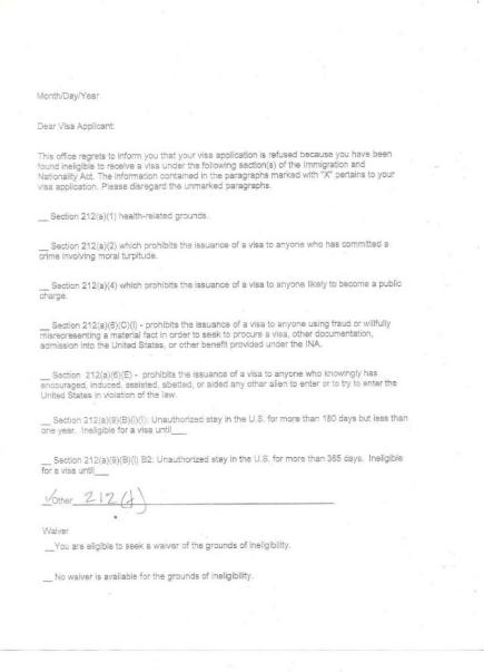梦断10043号令:被拒签中国留学生拟起诉美国政府