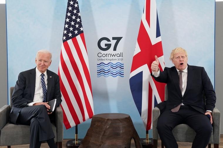 """美英签署新""""大西洋宪章"""":联合声明再查中国疫情起源"""