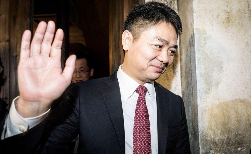 劉強東請辭政協委員後 股價上漲身價近500億(圖)