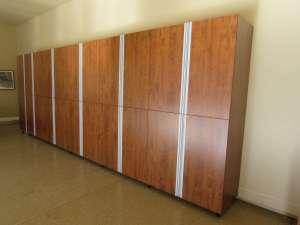 Summerflame Garage cabinets by We Organize-U