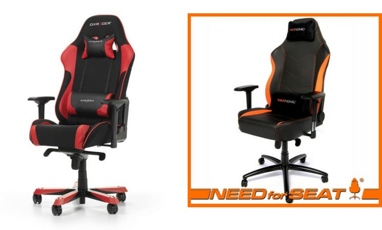 dxracer gaming chairs recliner chair maxnomic vs which brand is better wepc com
