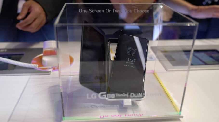 Teléfono para juegos LG G8X Dual Screen ces 2020