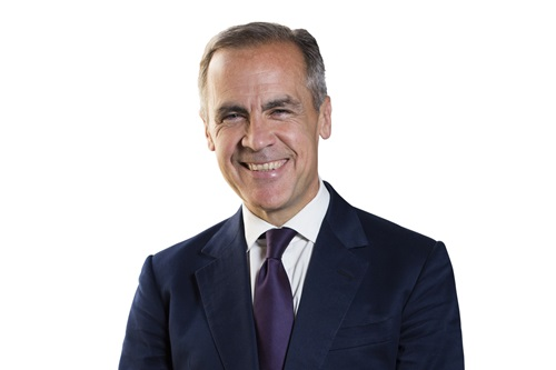 Mark Carney the governor of the Bank of England