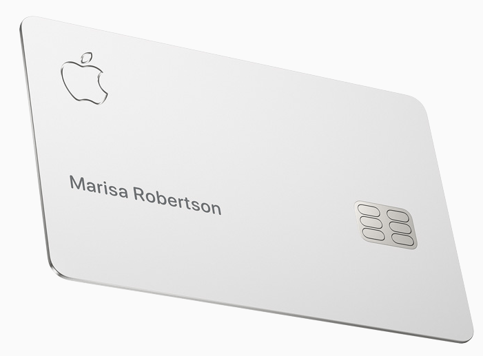 image showing the apple website where Cryptocurrency banned in Apple Card.