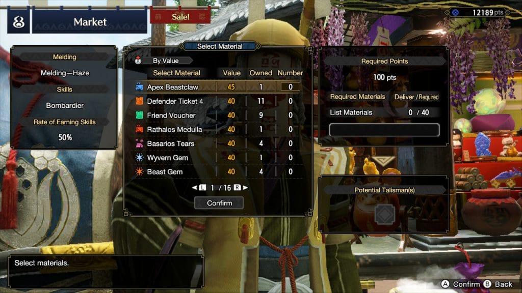 Monster Hunter Rise Charms