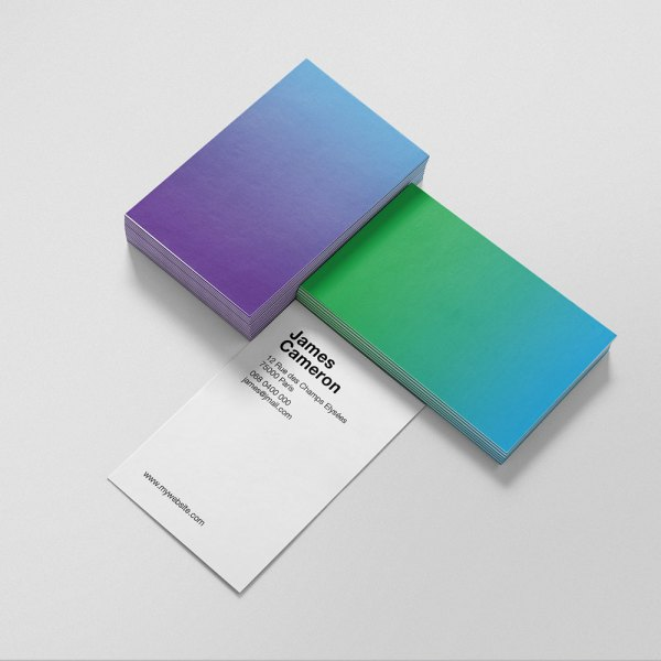 Carte de visite Gradient by WePrint