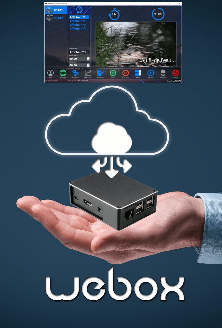 player webox connexion cloud sécurisé