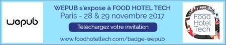 Badge hotel food tech