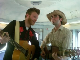 train entertainers