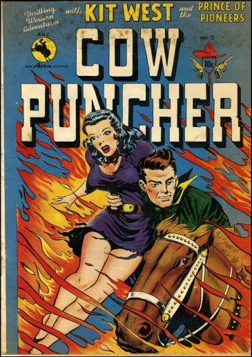 Cow Puncher #5, 1949.