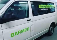 fahrzeugbeschriftung der BARMER Krankenkasse