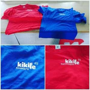 Textildruck auf Kinder & Erwachsenen T-Shirts