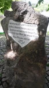 Wo Fulda und Werra zur Weser werden!