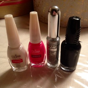 Vday nail polish